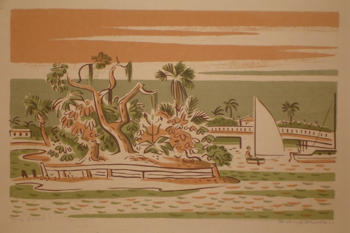 Bay Point (Silkscreen) 1977