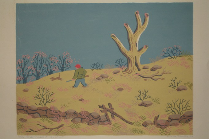 Rabbit Hunter (Silkscreen) 1946