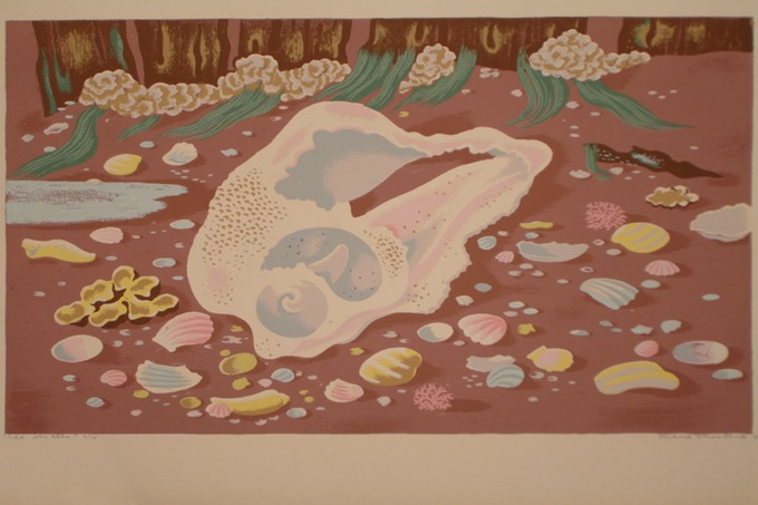 Sea Shells ( Silkscreen) 1940